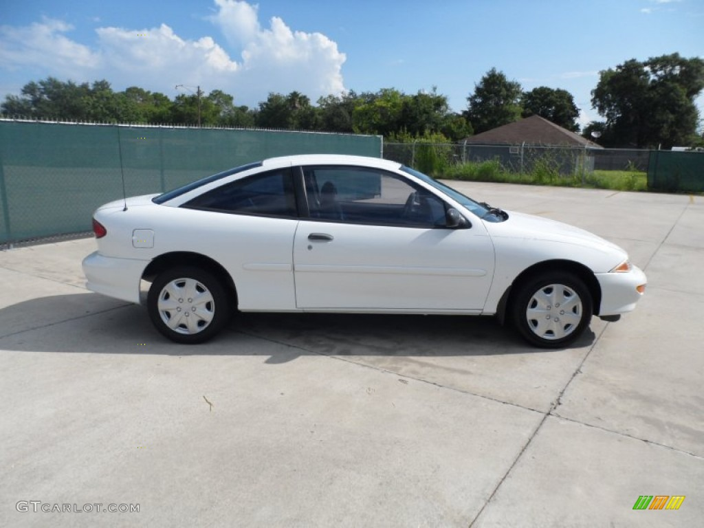 Bright White 1999 Chevrolet Cavalier Coupe Exterior Photo ...