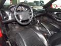 Black 2000 Porsche 911 Interiors