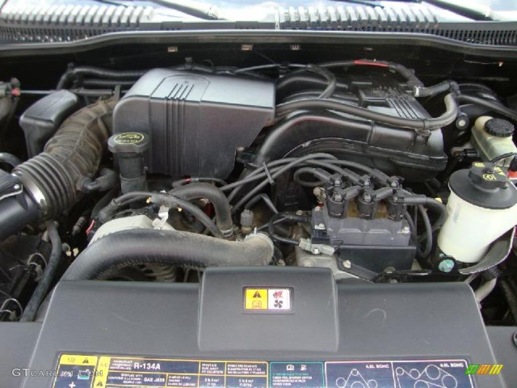 2002 Ford Explorer Eddie Bauer 4x4 4.0 Liter SOHC 12-Valve ...
