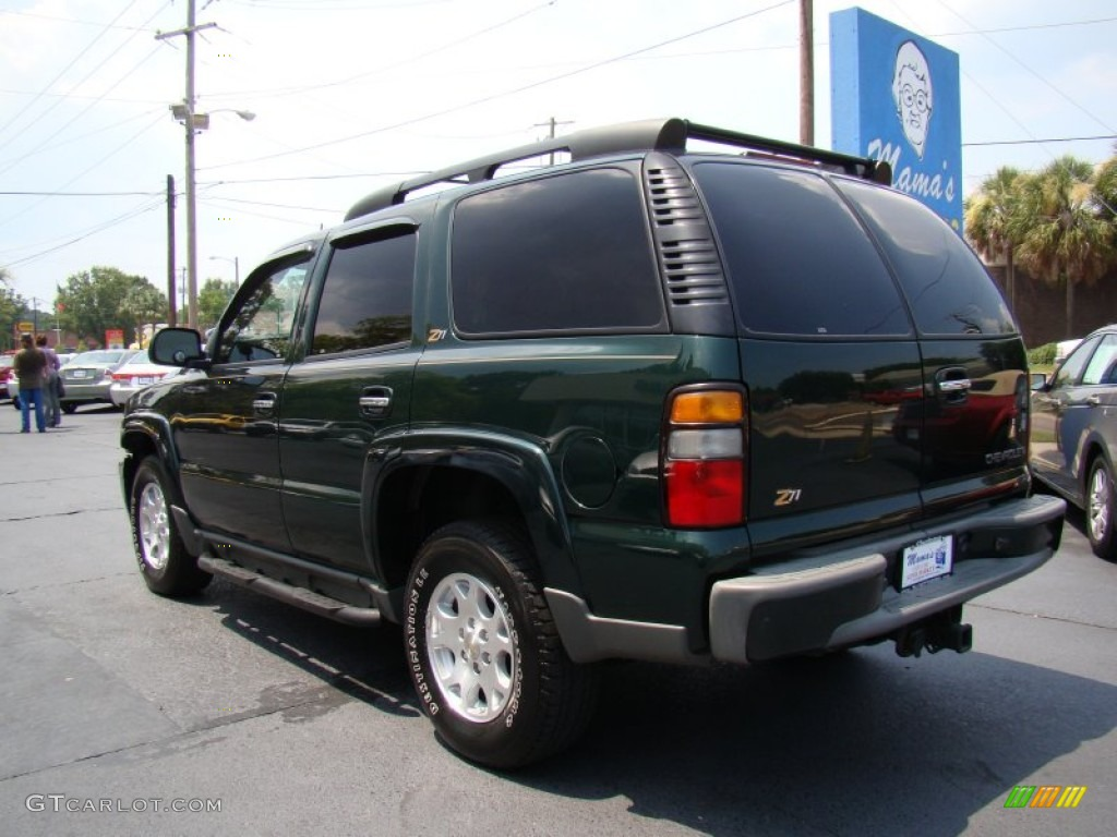 2004 Dark Green Metallic Chevrolet Tahoe Z71 4x4 51943293