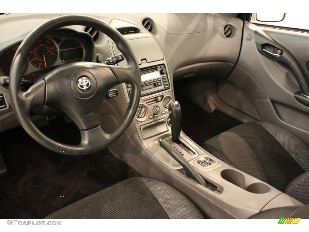 Black Silver Interior 2001 Toyota Celica Gt Photo 51971069