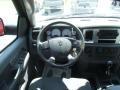 2007 Inferno Red Crystal Pearl Dodge Ram 3500 SLT Mega Cab 4x4 Dually  photo #9