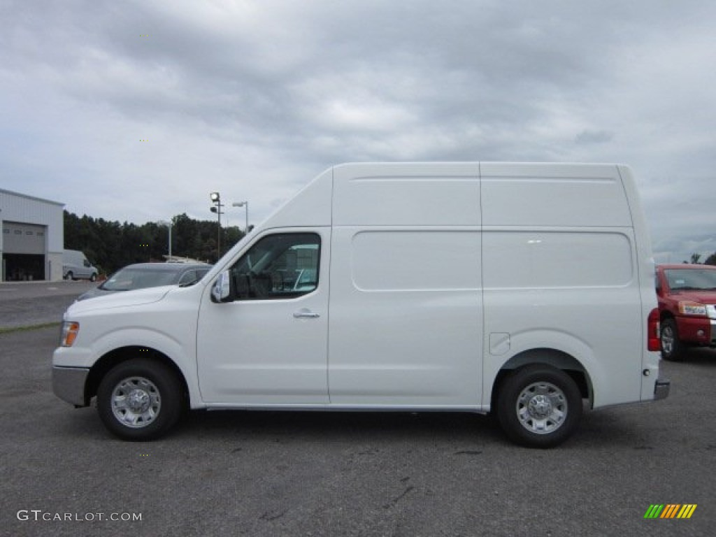 blizzard white 2012 nissan nv 2500 hd sv high roof exterior photo 51978038. Black Bedroom Furniture Sets. Home Design Ideas