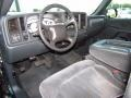 Graphite Gray 2002 Chevrolet Silverado 1500 LS Regular Cab Interior Color