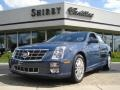 Blue Diamond Tricoat 2009 Cadillac STS 4 V6 AWD