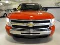 2009 Victory Red Chevrolet Silverado 1500 LT Extended Cab 4x4  photo #3