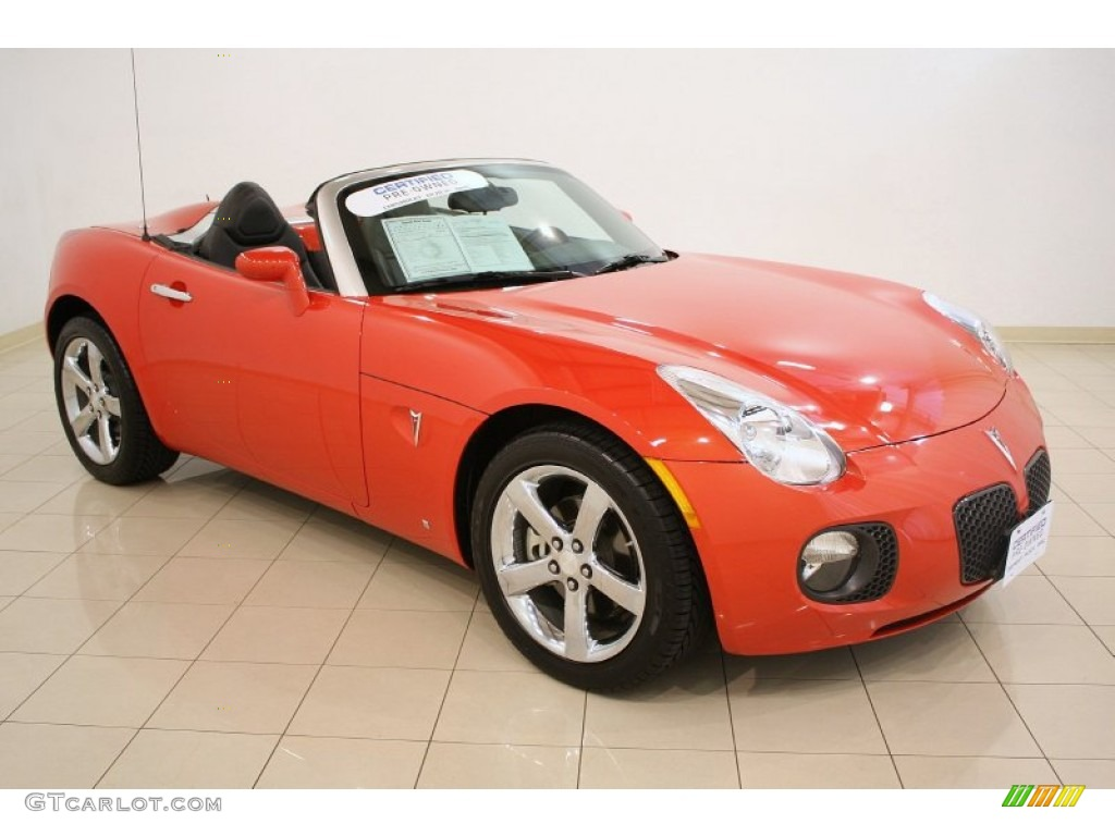 2008 Brazen Orange Pontiac Solstice Gxp Roadster 51989442 Gtcarlot Com Car Color Galleries