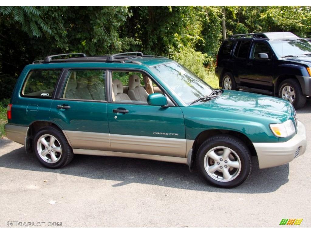 arcadia green metallic 2001 subaru forester 2 5 s exterior photo 51997209 gtcarlot com gtcarlot com