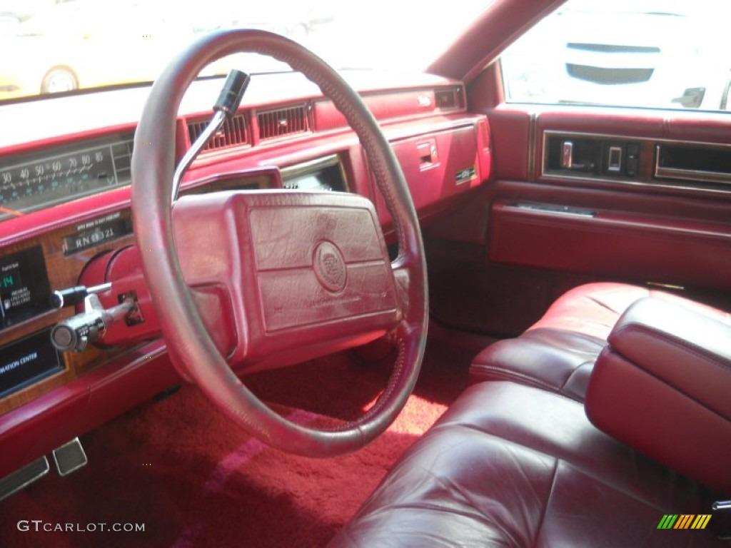 1992 Cadillac Deville Sedan Interior Photo 52012059