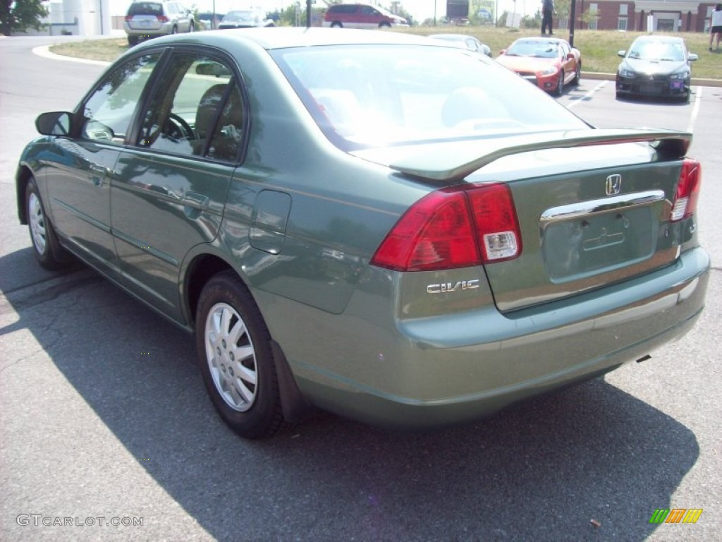 Galapagos Green 2003 Honda Civic Lx Sedan Exterior Photo 52016313 Gtcarlot Com