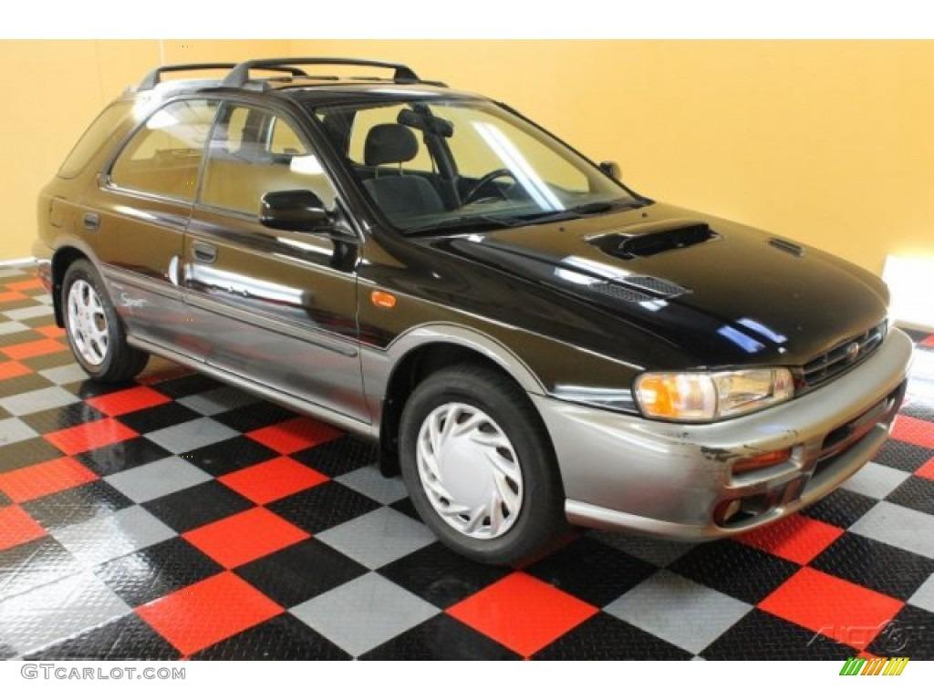 1999 black pearl metallic subaru impreza outback sport 51989357 car color. Black Bedroom Furniture Sets. Home Design Ideas