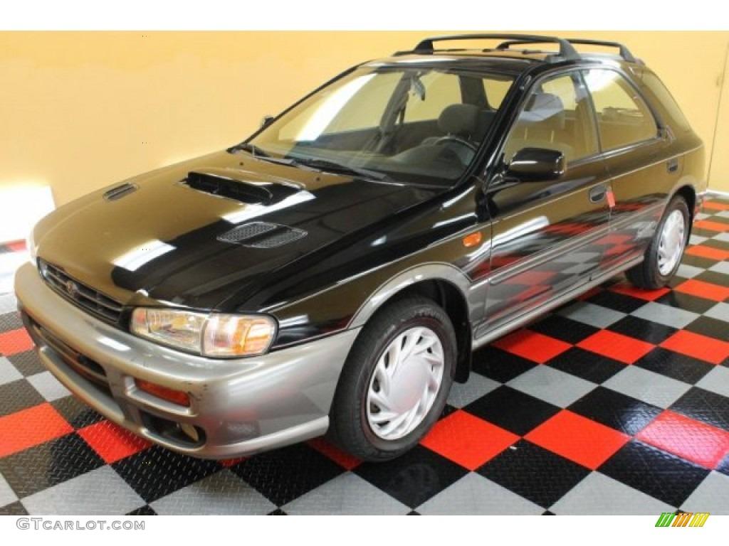 1999 black pearl metallic subaru impreza outback sport 51989357 photo 2 car. Black Bedroom Furniture Sets. Home Design Ideas