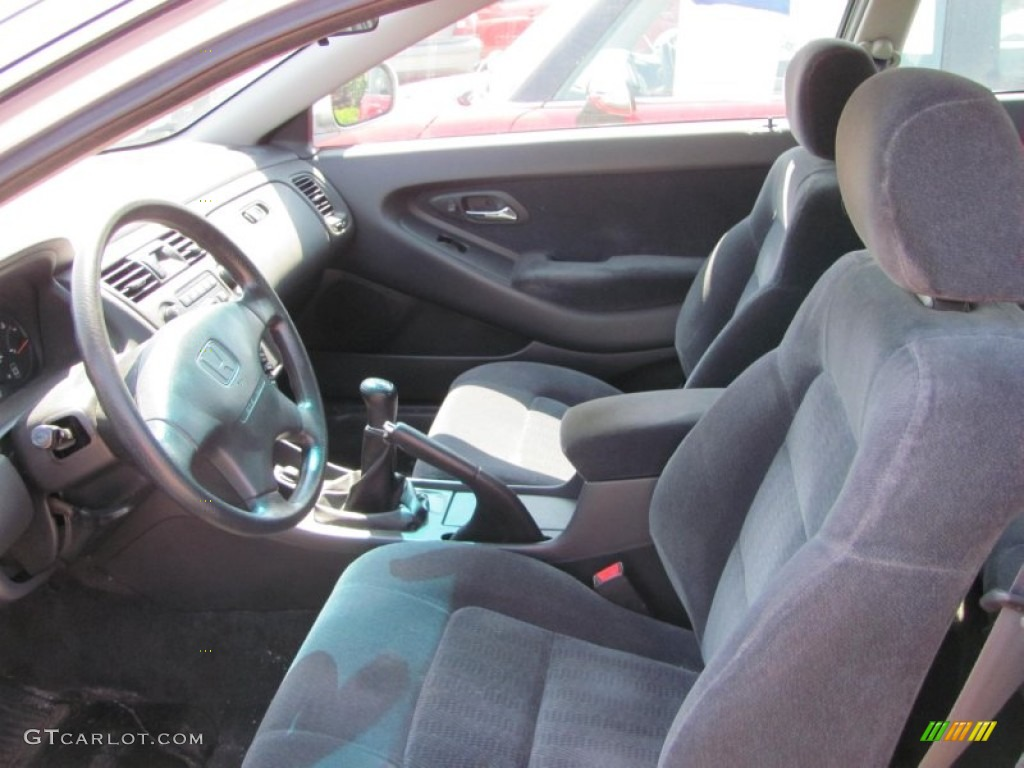 Charcoal Interior 2000 Honda Accord Ex Coupe Photo 52020765