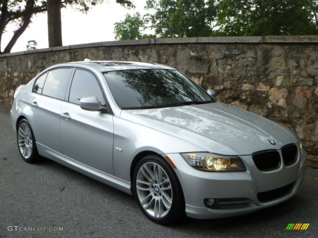 2010 titanium silver metallic bmw 3 series 335d sedan. Black Bedroom Furniture Sets. Home Design Ideas