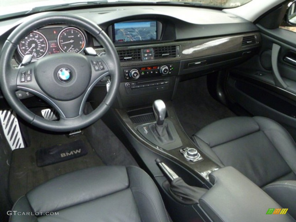 Black Interior 2010 Bmw 3 Series 335d Sedan Photo