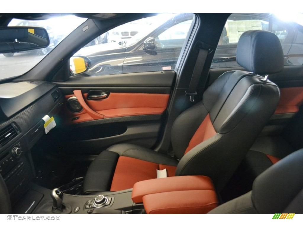 Fox Red Novillo Leather Interior 2011 BMW M3 Sedan Photo ...  Fox Red Novillo...