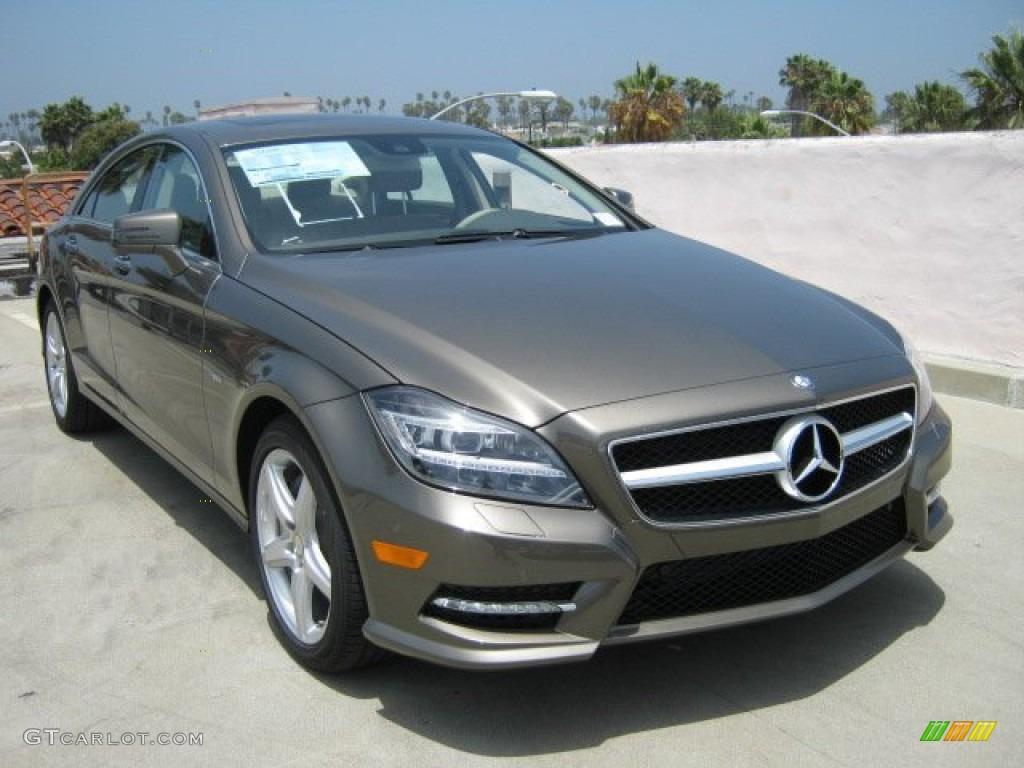 Indium Grey Metallic 2012 Mercedes Benz Cls 550 Coupe Exterior Photo 52032438 Gtcarlot Com