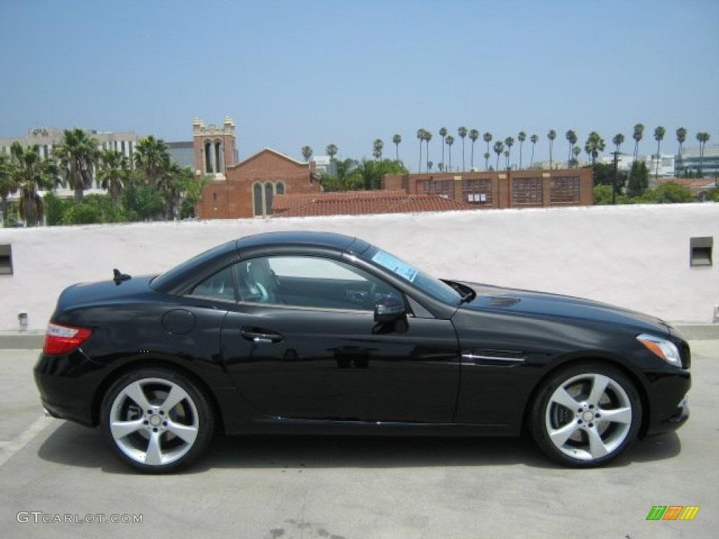 Black 2012 mercedes benz slk 350 roadster exterior photo for 2012 mercedes benz slk