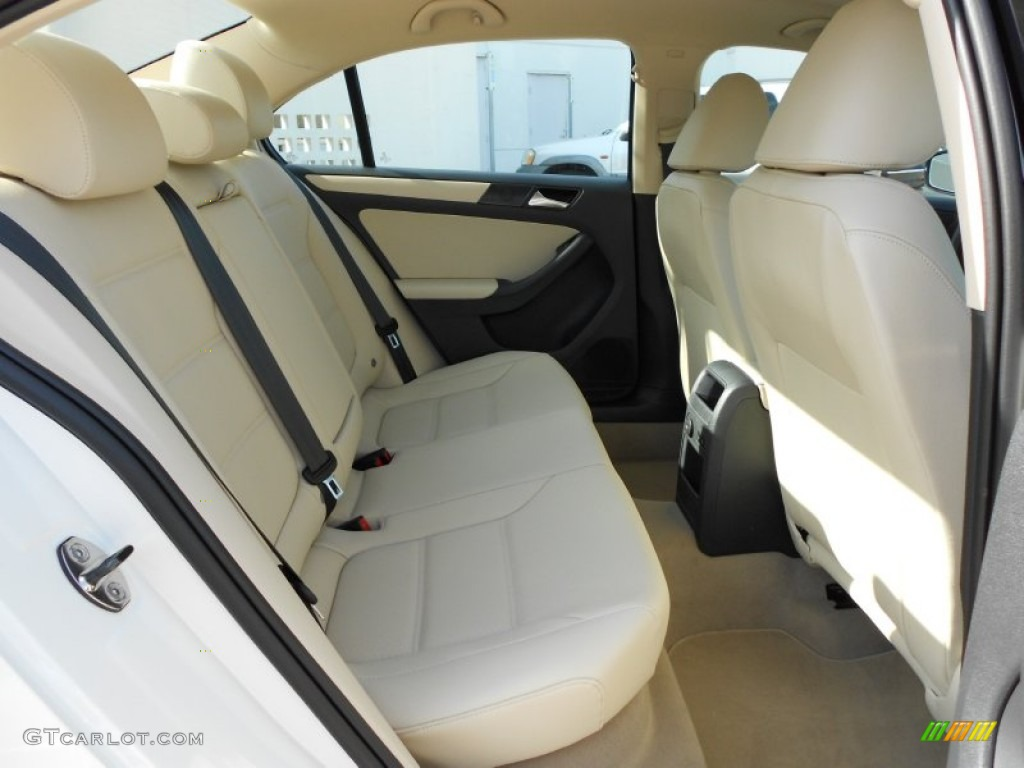 Cornsilk Beige Interior 2011 Volkswagen Jetta Se Sedan Photo 52033299