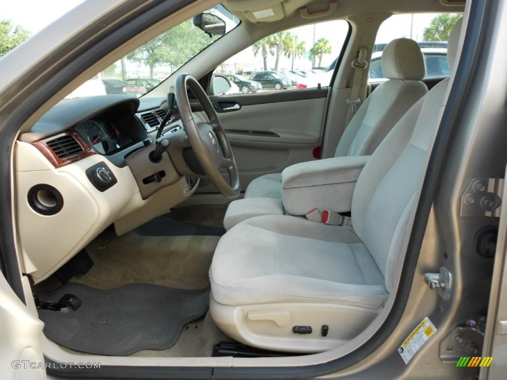 Neutral Beige Interior 2007 Chevrolet Impala Lt Photo