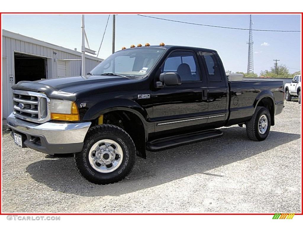 1999 black ford f250 super duty lariat extended cab 4x4 51989253 car color. Black Bedroom Furniture Sets. Home Design Ideas