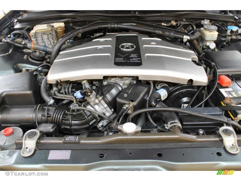 1997 acura rl 3 5 sedan 3 5 liter sohc 24 valve v6 engine. Black Bedroom Furniture Sets. Home Design Ideas