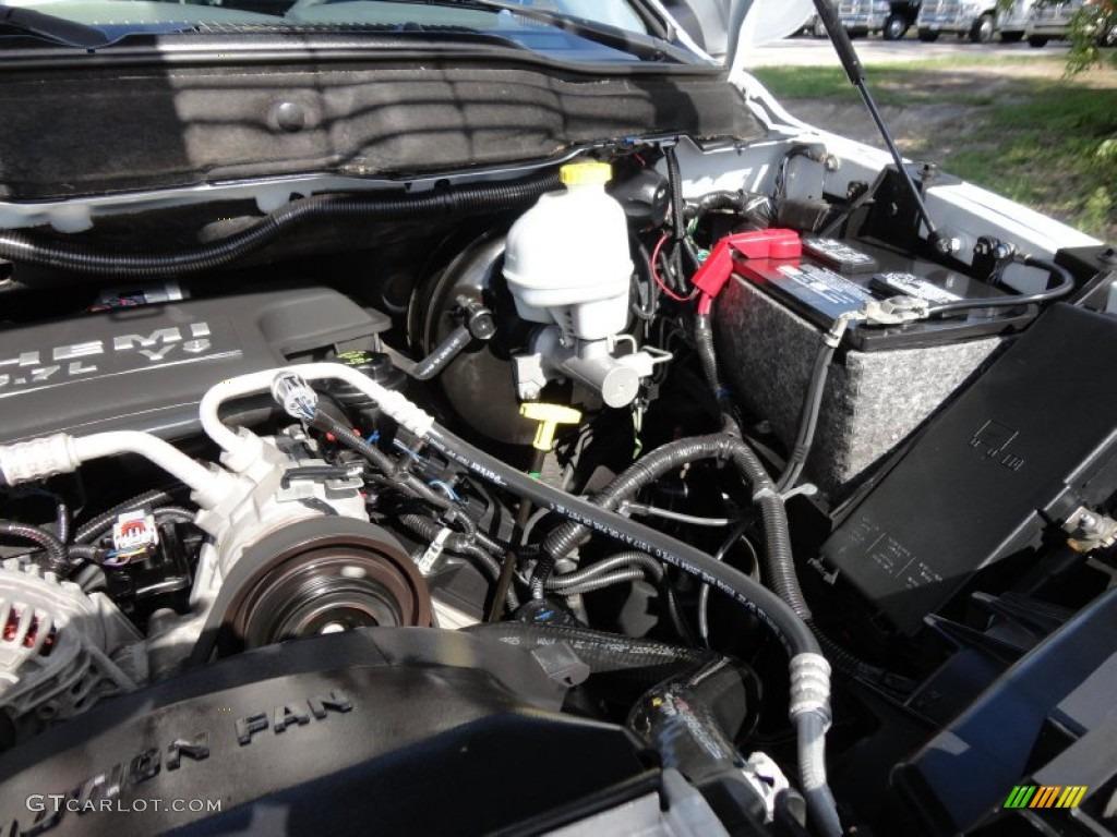 2007 Dodge Ram 1500 SLT Mega Cab 4x4 5.7 Liter HEMI OHV 16 Valve V8 Engine Photo #52047416