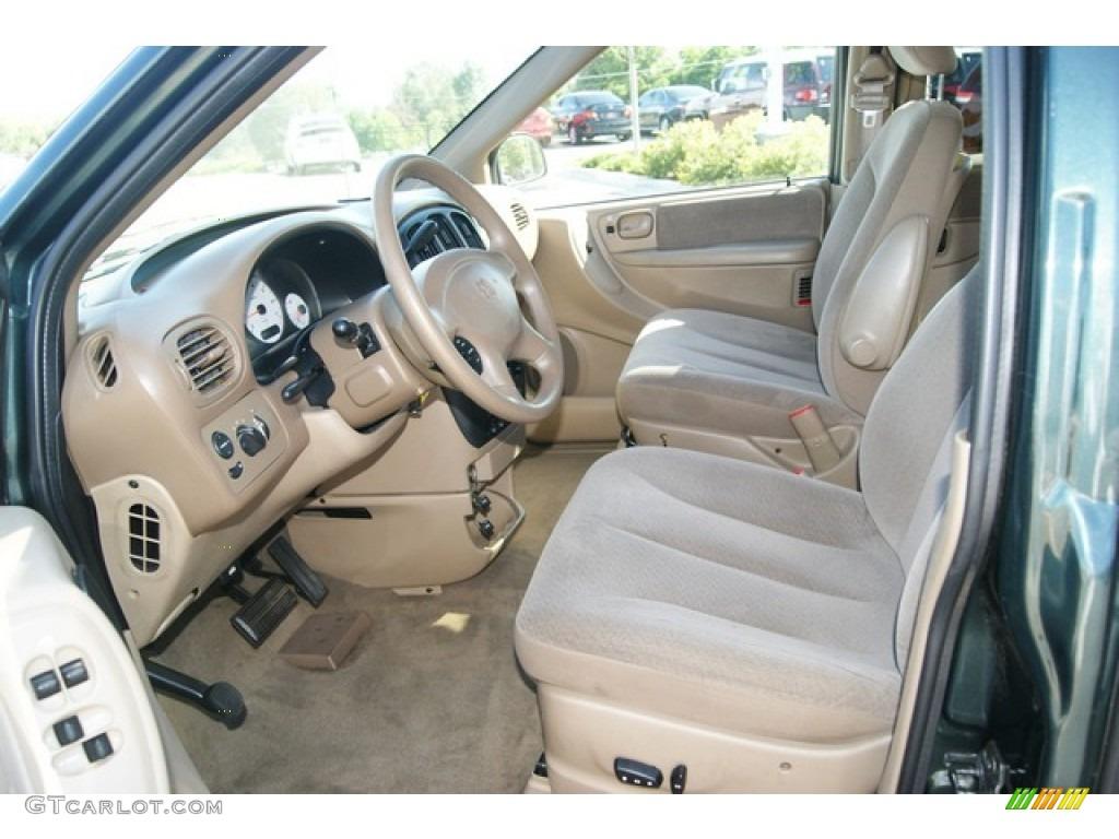 Sandstone Interior 2001 Dodge Grand Caravan Sport Photo 52048763
