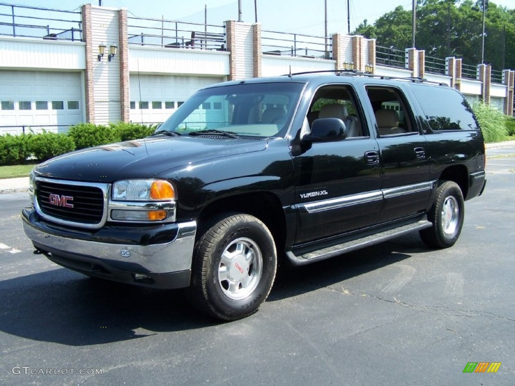 2002 onyx black gmc yukon xl slt 4x4 52039847 gtcarlot. Black Bedroom Furniture Sets. Home Design Ideas
