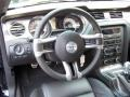 2011 Ford Mustang Charcoal Black/Grabber Blue Interior Dashboard Photo