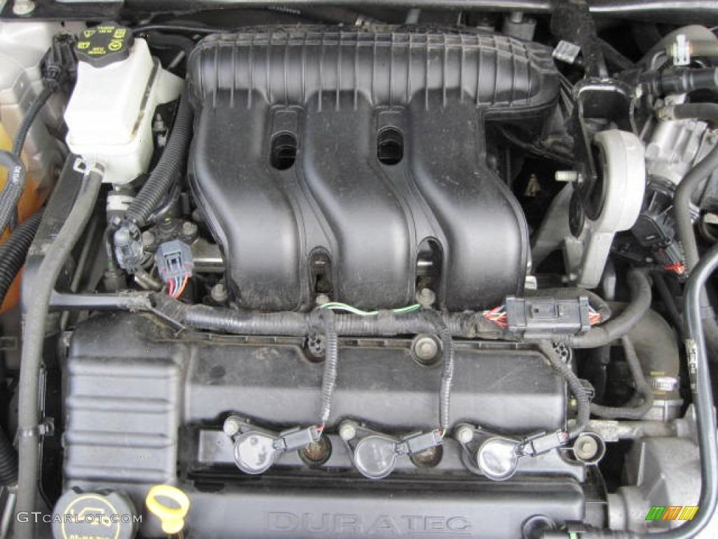 2006 ford freestyle se 3 0l dohc 24v duratec v6 engine