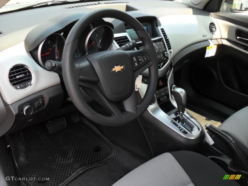 jet black/medium titanium interior 2012 chevrolet cruze ls photo