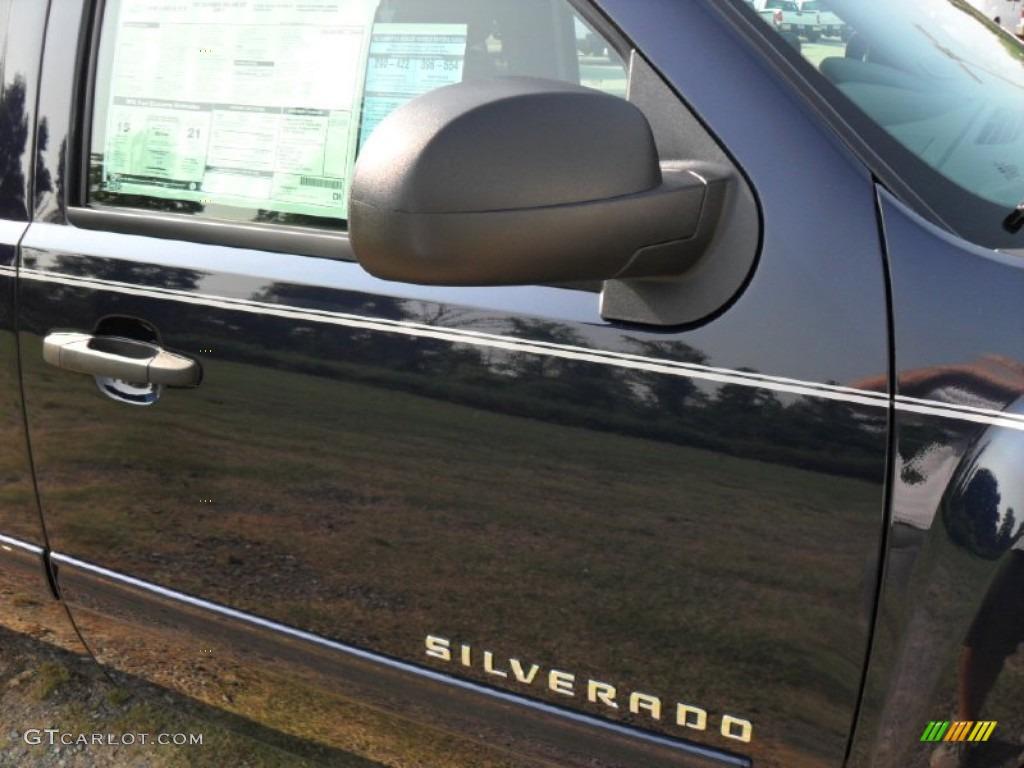 2011 Silverado 1500 LT Extended Cab 4x4 - Imperial Blue Metallic / Ebony photo #23