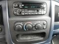 2002 Dodge Ram 1500 Navy Blue Interior Controls Photo