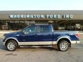 Dark Blue Pearl Metallic - F150 King Ranch SuperCrew 4x4 Photo No. 1