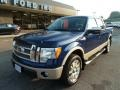 Dark Blue Pearl Metallic - F150 King Ranch SuperCrew 4x4 Photo No. 8