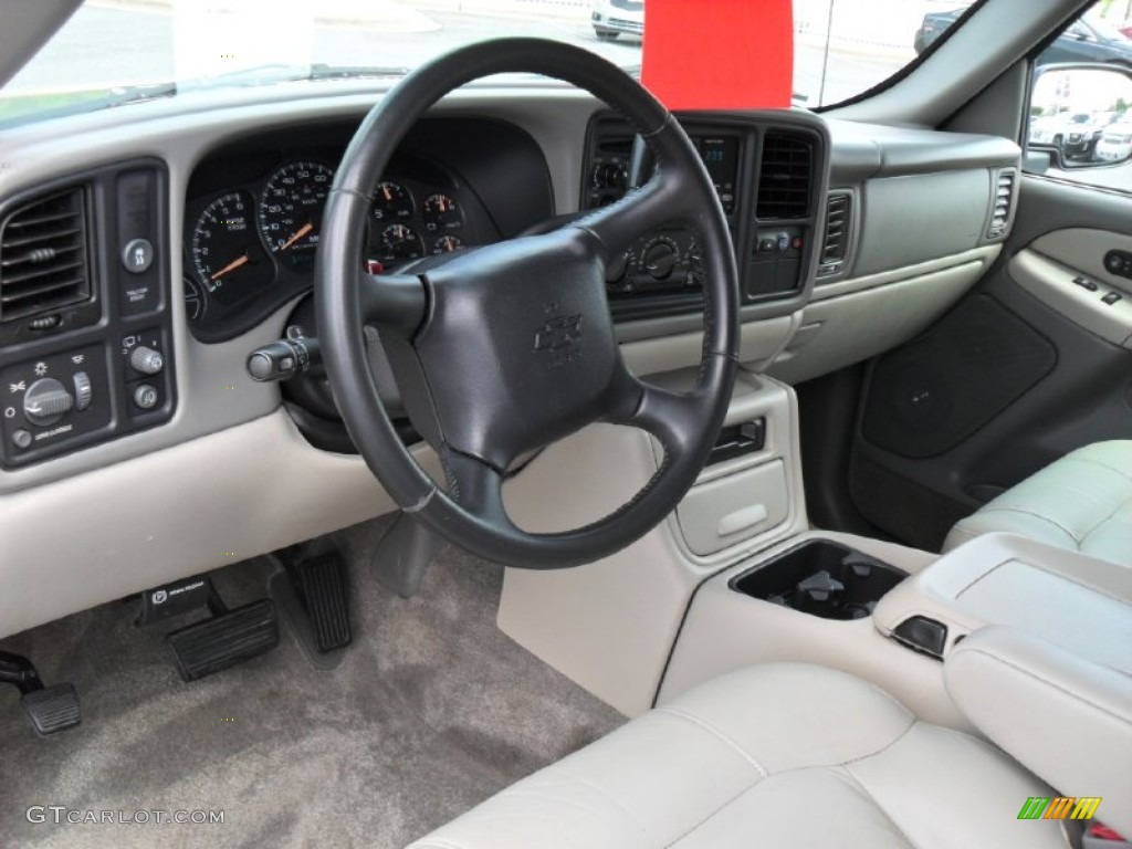 Light Gray Neutral Interior 2001 Chevrolet Suburban 1500 Lt Photo 52109159
