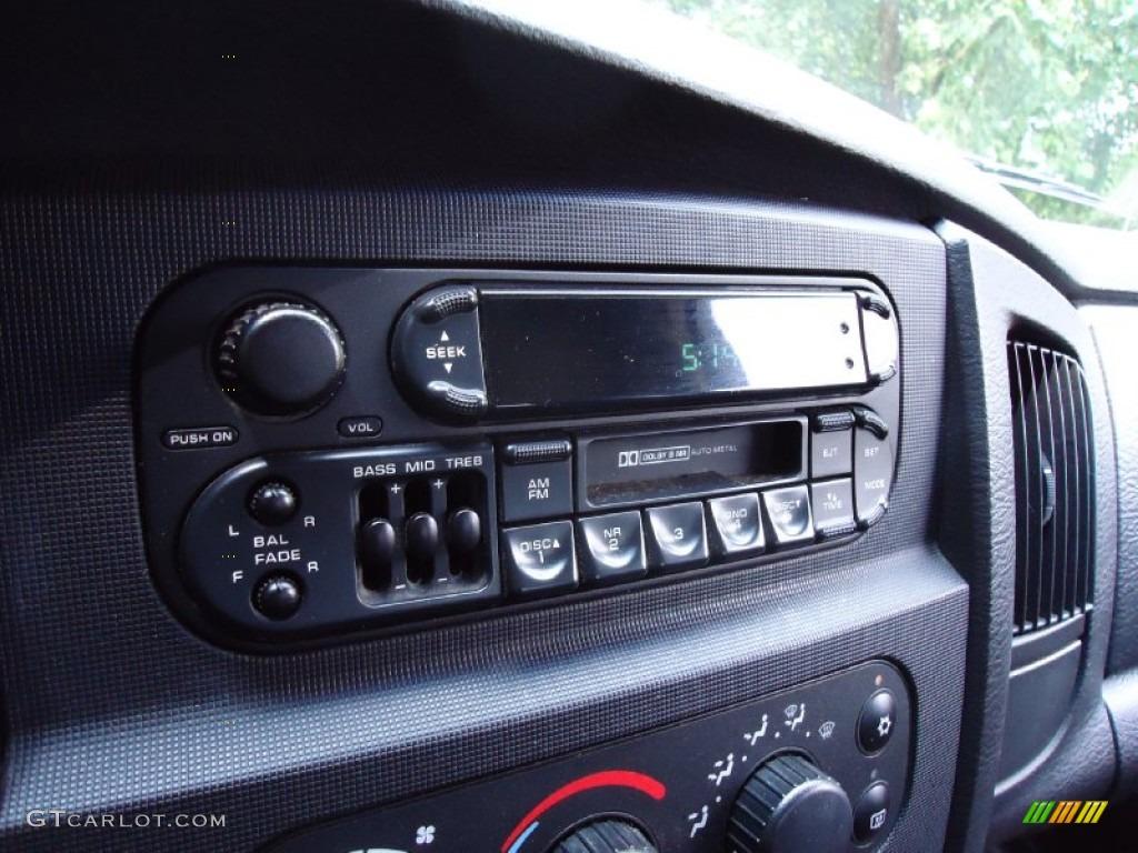 2002 Ram 1500 ST Quad Cab 4x4 - Graphite Metallic / Dark Slate Gray photo #24