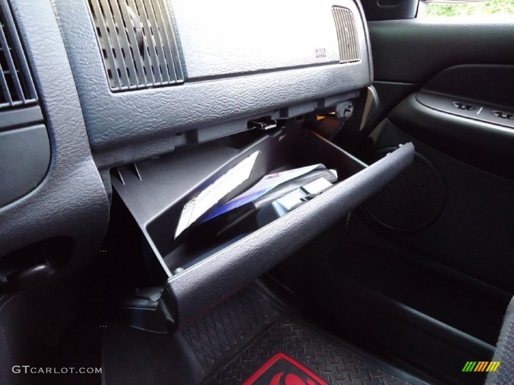 2002 Ram 1500 ST Quad Cab 4x4 - Graphite Metallic / Dark Slate Gray photo #31