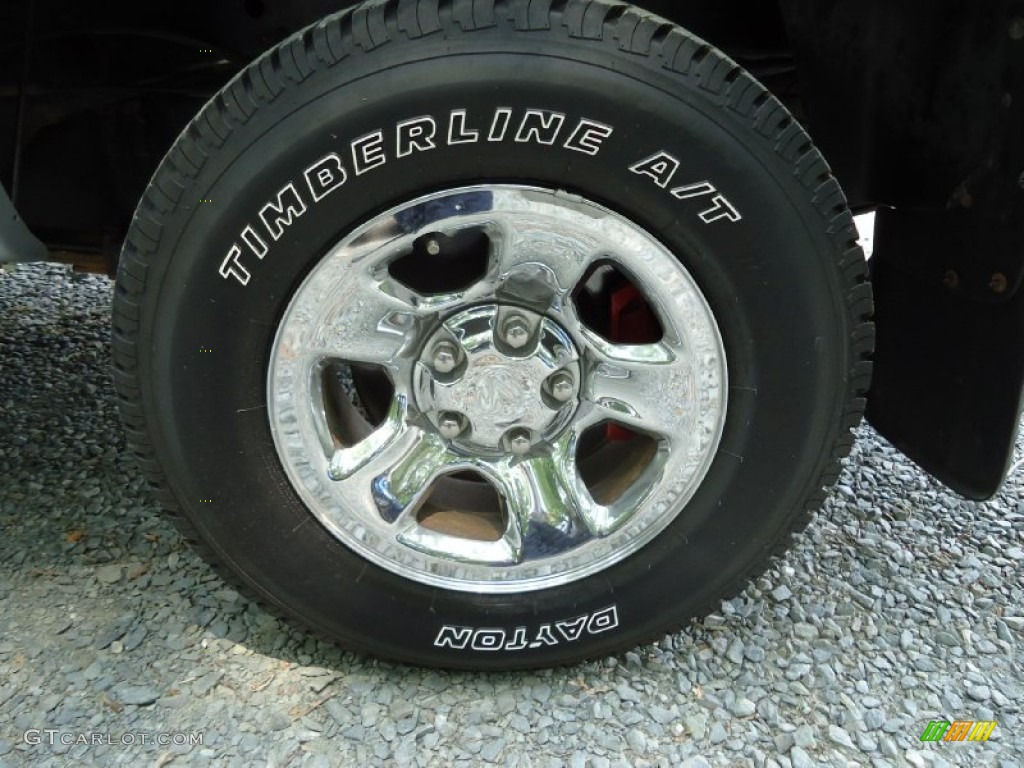 2002 Ram 1500 ST Quad Cab 4x4 - Graphite Metallic / Dark Slate Gray photo #33