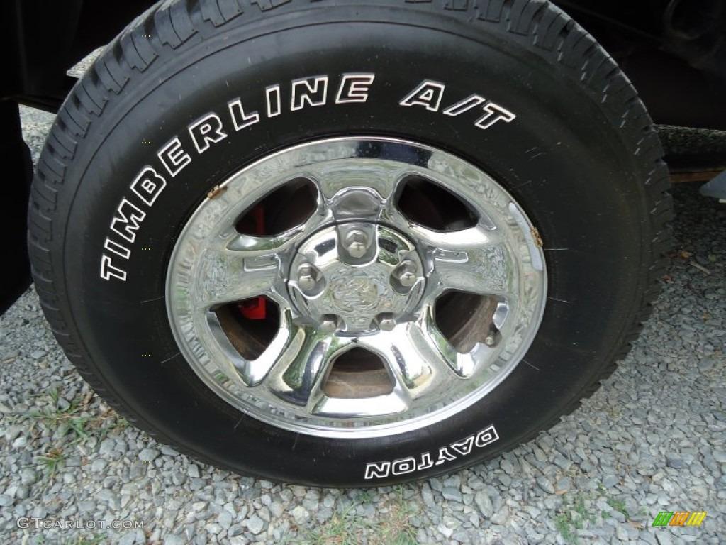 2002 Ram 1500 ST Quad Cab 4x4 - Graphite Metallic / Dark Slate Gray photo #36