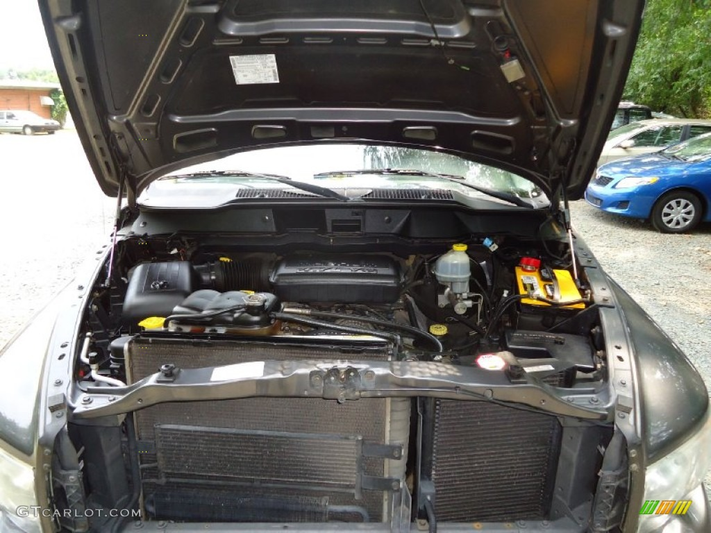 2002 Ram 1500 ST Quad Cab 4x4 - Graphite Metallic / Dark Slate Gray photo #41