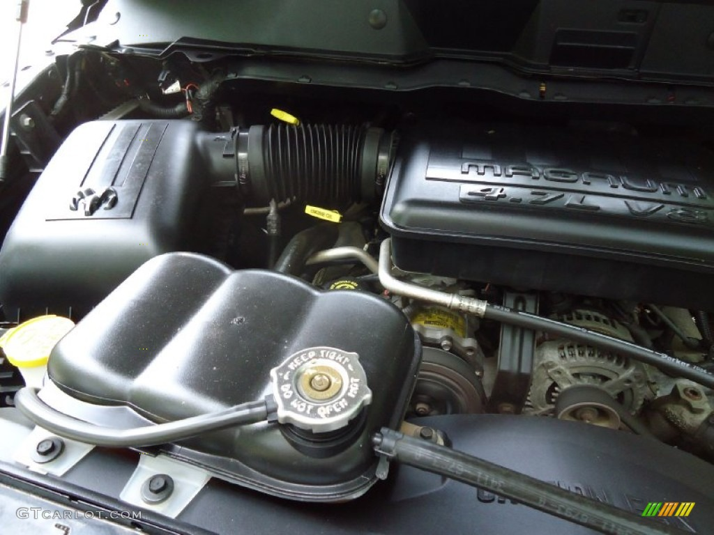 2002 Ram 1500 ST Quad Cab 4x4 - Graphite Metallic / Dark Slate Gray photo #42