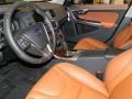 2012 S60 T5 Beechwood Brown/Off Black Interior