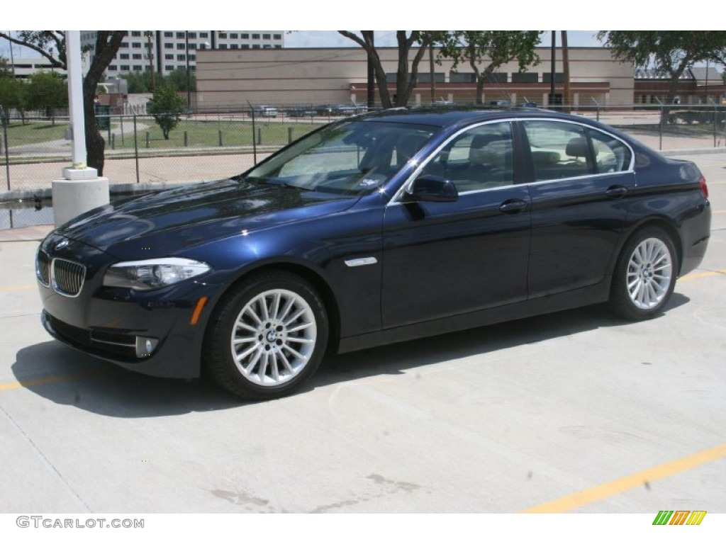Imperial Blue Metallic 2011 BMW 5 Series 535i Sedan Exterior Photo 52123558