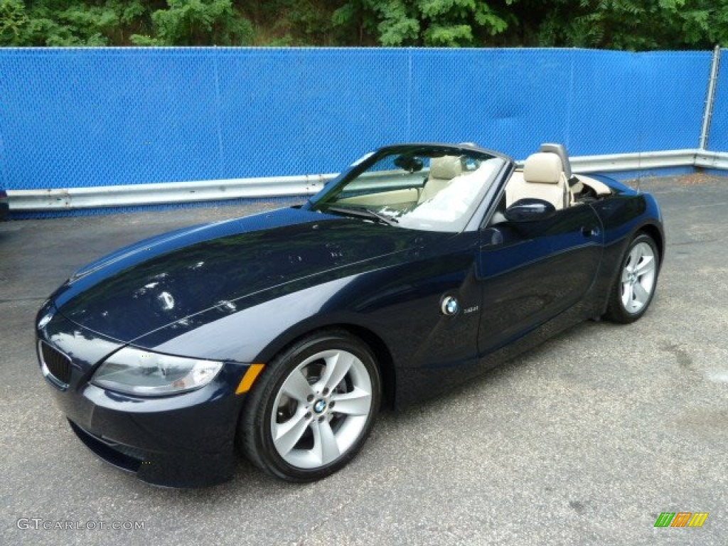 2006 monaco blue metallic bmw z4 3.0i roadster #52118234 photo #8