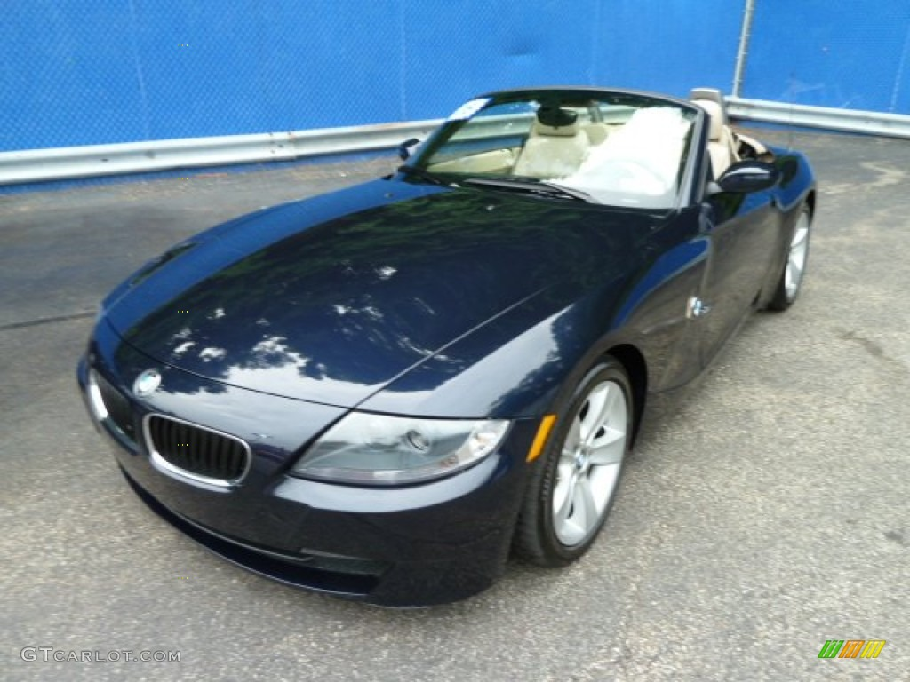 2006 monaco blue metallic bmw z4 roadster 52118234. Black Bedroom Furniture Sets. Home Design Ideas