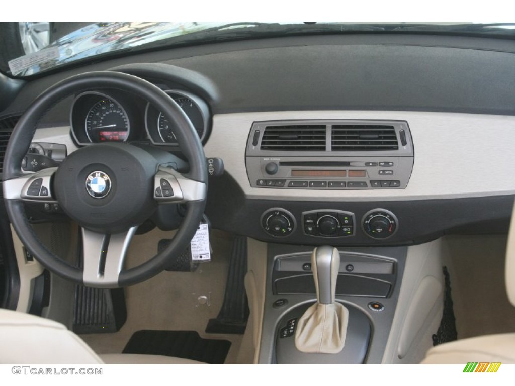 2004 Bmw Z4 3 0i Roadster Beige Dashboard Photo 52128538