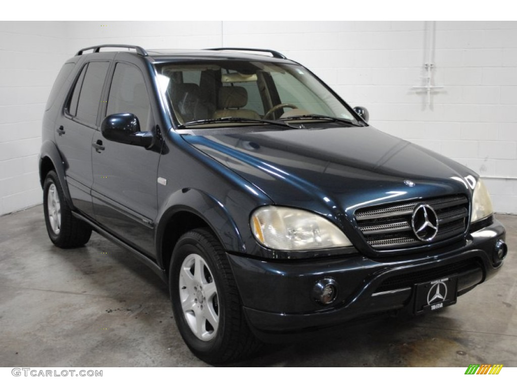 black opal metallic 2001 mercedes benz ml 430 4matic