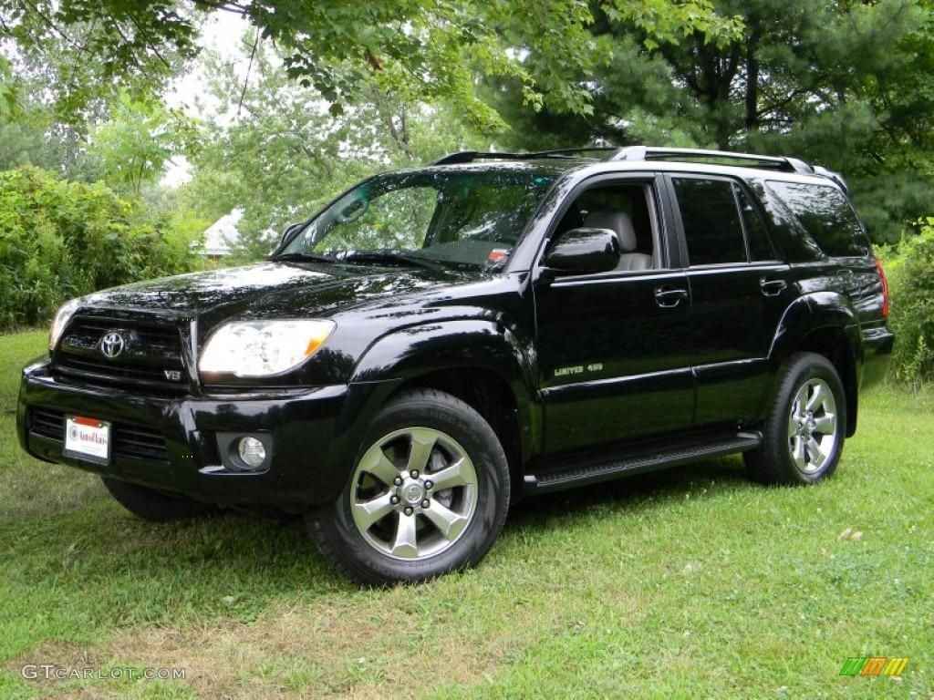 2007 black toyota 4runner limited 4x4 52118158 car color galleries. Black Bedroom Furniture Sets. Home Design Ideas